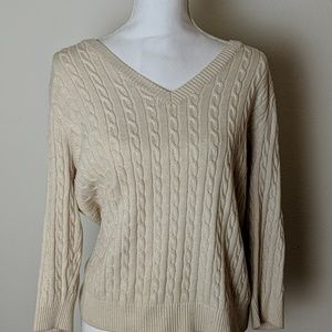Willi Smith Cable knit Sweater